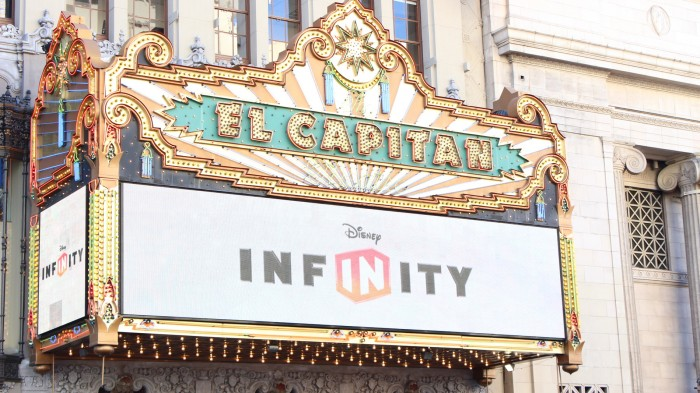 DisneyInfinity El Capitan Theatre Walt Disney 3868 Hollywod Boulevard